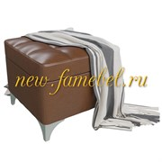 Банкетка с нишей Жозефина-2. коричневая