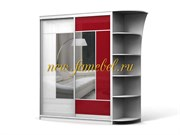 Боско 2 шкаф-купе двухдверный фасад плёнка Оракал