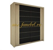 Амадеус 11 шкаф-купе 2-х дверный 800-1500/1900-2700/400-700