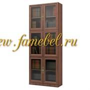 Шкаф книжный Карлос 024, размер 80х203х28 см