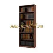 Шкаф книжный стеллаж Карлос 002, размер 80х203х28 см.