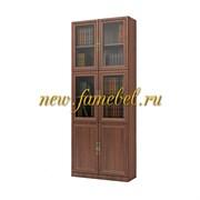 Шкаф книжный Карлос 020, размер 80х203х28 см