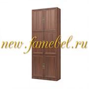 Шкаф книжный Карлос 016, размер 80х203х28 см.