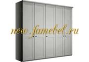 Распашной шкаф София 10 МДФ 200х220х50 см, пять дверей