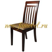 Стул Мебель-24 Гольф-11 цвет орех обивка ткань атина коричневая