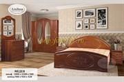 Спальня Медея МДФ, Спальня с фасадом МДФ