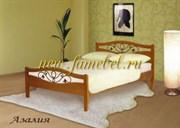Кровать Азалия с ковкой