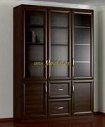 Шкаф книжный 3.4 темный