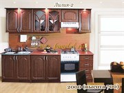 Кухня Лилия 2 МДФ 2000 вишня
