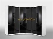Композиция Глянец 21 угловой шкаф