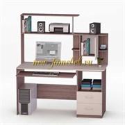 Роберт 3 Компьютерный стол с надставкой