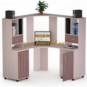 Угловой компьютерный стол Роберт 8