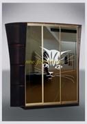 Зеркальный шкаф-купе Стиль 3 пескоструйный рисунок 15